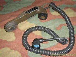 H-33F/PT Microtelefono cavo lungo colore verde
