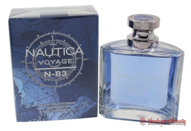 Nautica Voyage N-83 By Nautica 3.4oz/100ml Edt Spray For Men New In Box