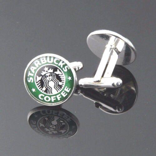 Impresionante nuevo par de Starbucks Coffee Hombre//Mujer Gemelos//fabuloso Set