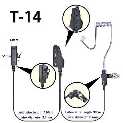 Mic Earpiece For KENWOOD TK280 TK380 TK480 TK5410 NX200 NX300 NX210 NX410 NX411