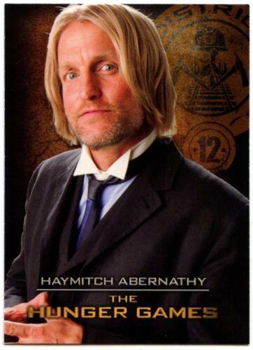 Haymitch Abernathy #6 The Hunger Games 2012 Neca Trade Card C1498