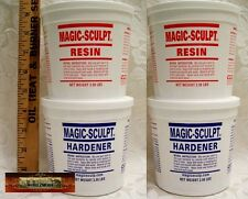 M02054x2 MOREZMORE 10 lb BROWN Magic Sculpt Sculp Epoxy Clay Model Putty T20A