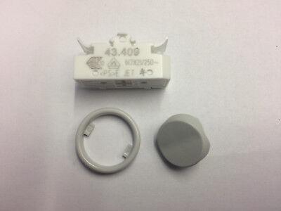 2 polig  D 8 mm Schalter Zugschalter Einbauschalter Ein Aus Schalter