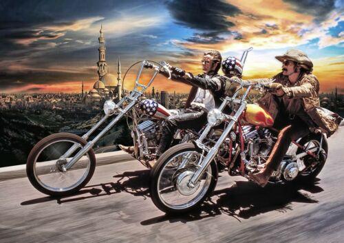 Art Print Poster Canvas David Mann Easy Rider
