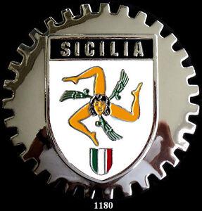 CAR GRILLE BADGES -  ITALIA (SICILA)