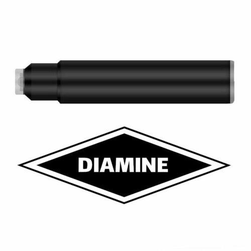 Diamine 20 Standard Patronen Füller Füllfederhalter 4001 Tinte DIA1138 Espresso