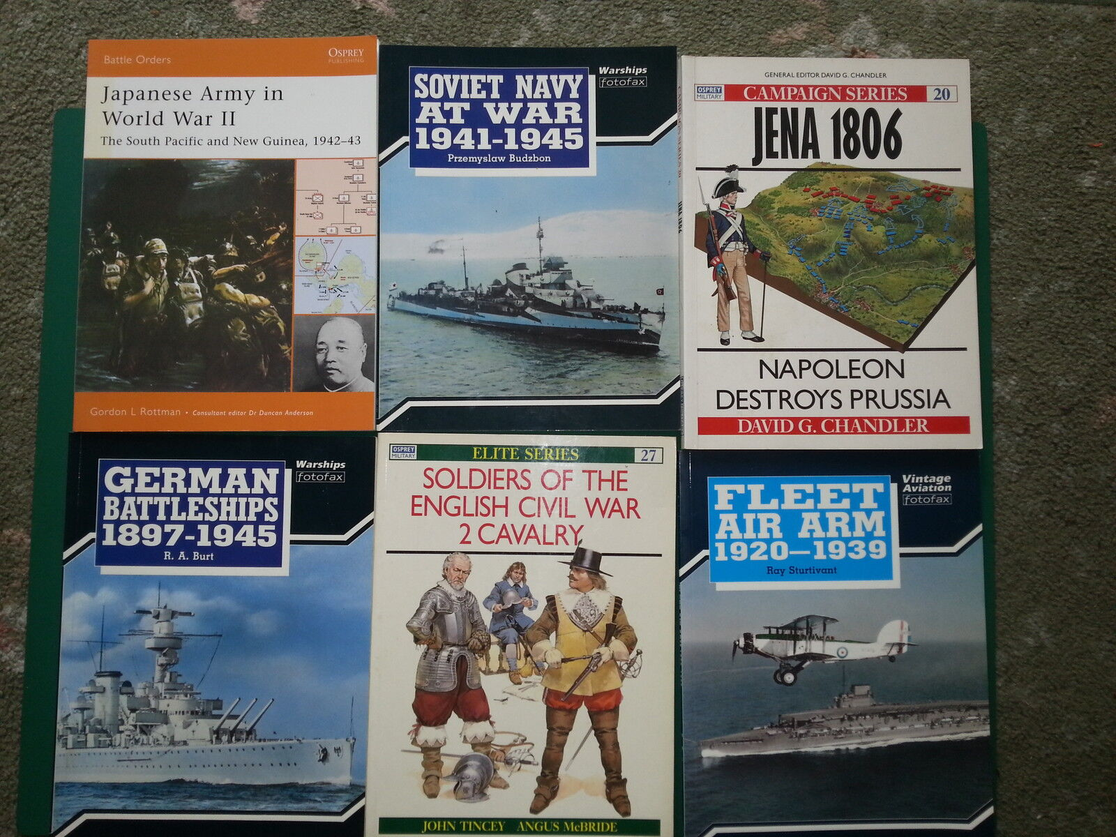 Osprey Wargaming, Army, Navy, Air Force, Uniform, Vehicle, and Historical guides