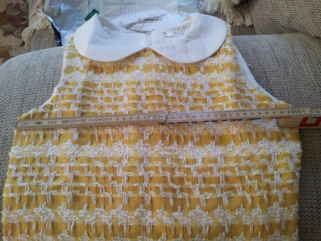Bezauberndes Tweed Kleid Kleid Kleid Gr.XS NEU.  Ihr Preisvorschlag bitte.   Starke Hitze- und Hitzebeständigkeit  6c6359