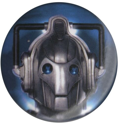 Dr Who Cybermen David Tennant 1.5 inch 38mm Pin Badge