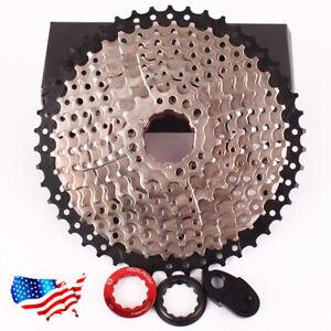 BOLANY-8-9-10-11-Velocidad-Mountain-Bike-Bicicleta-Bici-Aluminio-casetes-Cassette-COGS-ciclismo