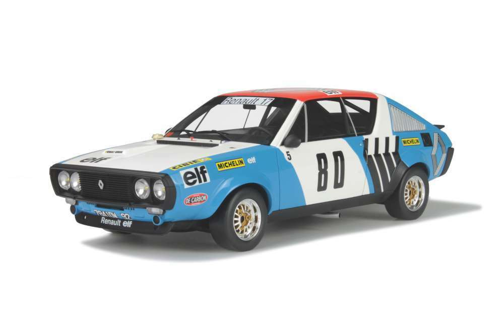 OTTO MOBILE 207 RENAULT 17 GORDINI resin model rally car Rally Vercors 1975 1 18