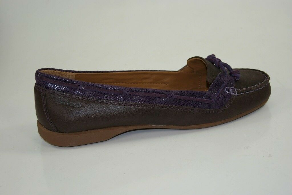 Sebago Ballerinas Felucca Lace Slipper Loafer Mocassins Damen Schuhe B668008 NEU