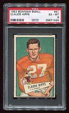 1952 Bowman Small #41 Claude Hipps *Univ. of Georgis* PSA 6 EX-MT #25871424