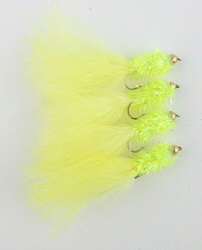 Lure Trout Fishing Flies 10 Assorted Colours X4 Goldhead Taddies