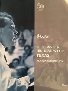 Barbri Bar Exam TEXAS Conviser Mini Review 2017-18 -FREE