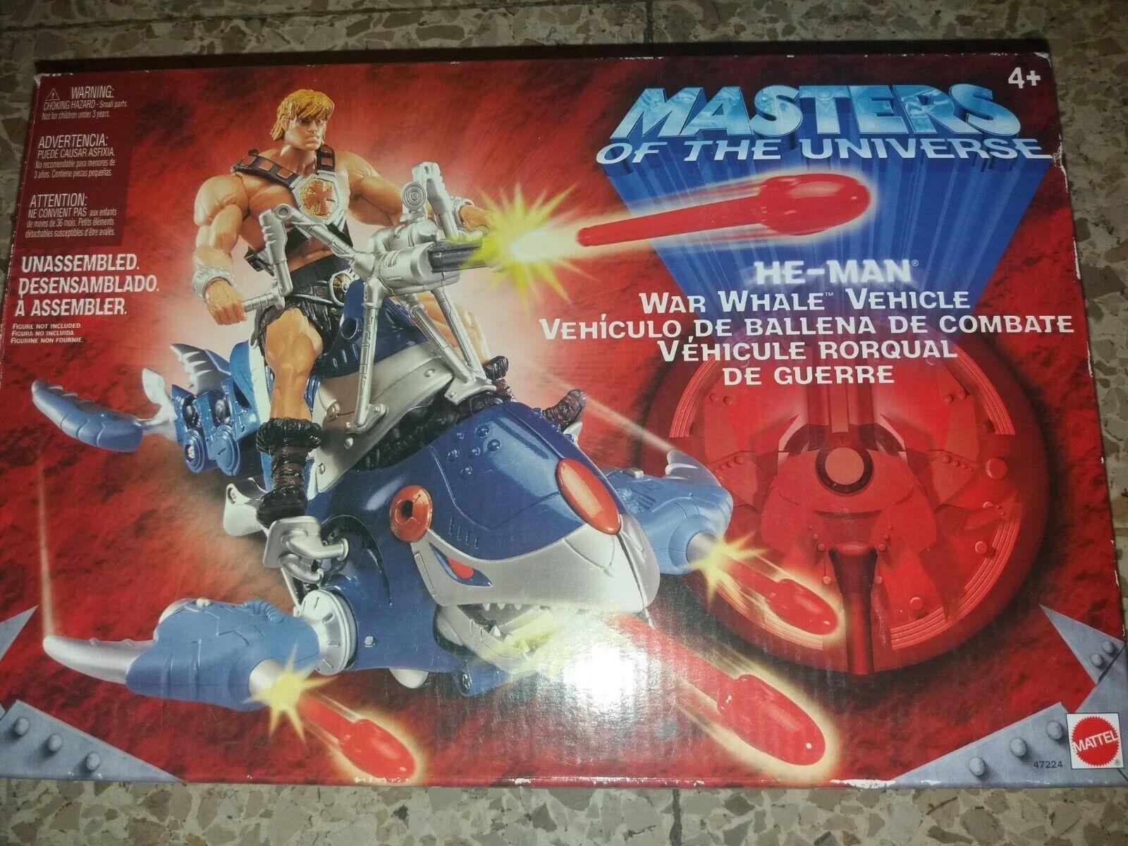 HE-MAN Master of The Universe 200X War Whale Vehicle (2002) Mattel