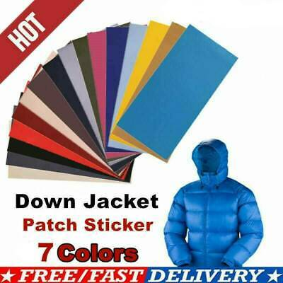 2X Waterproof Sticker Cloth Down Jacket Patch Outdoor Tent Repair Tape Patch Je