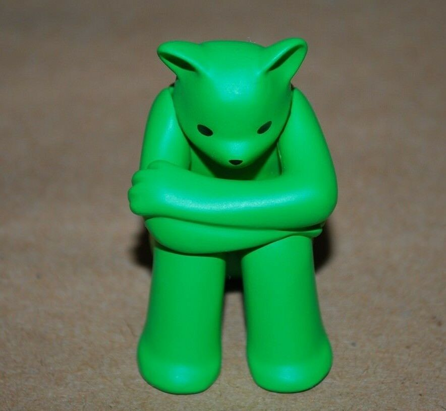 Munky King x Luke Chueh 2017 The Prisoner  Amarillo Verde Kuma OG  1.5  Figure