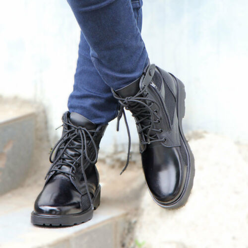 Desert Duty 6 Leren Black ~ Security Laarzen Meshed 5 Track 12 Cool Footwear qnYwExz6