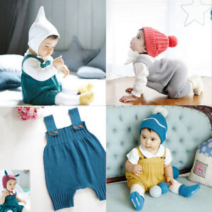Baby-Sweater-Solid-Jumpsuit-Newborn-Boys-Girls-Knitted-Clothing-Romper-Fad