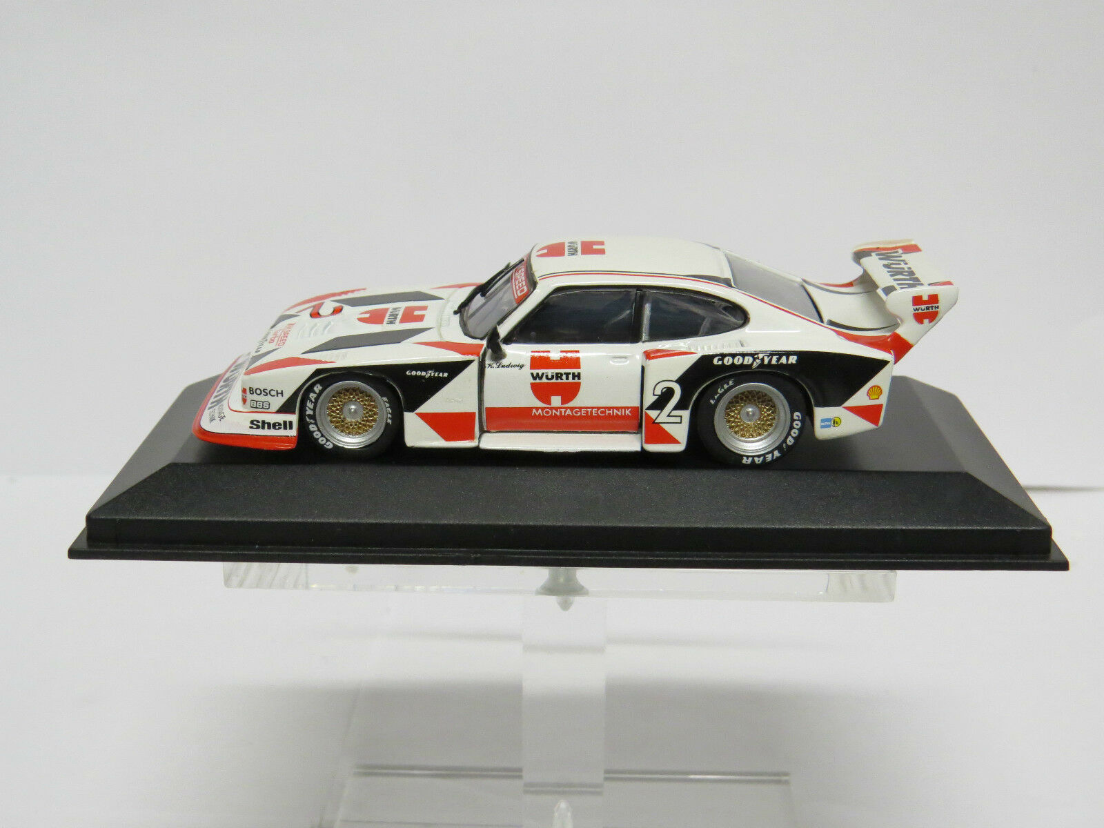 Ford Capri Turbo Gr.5 Würth 1981 K. Ludwig 1 43 Minichamps 430818502
