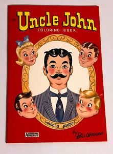 Uncle-John-Coloring-Book-Vintage-1962-Restaurant-Give-Away