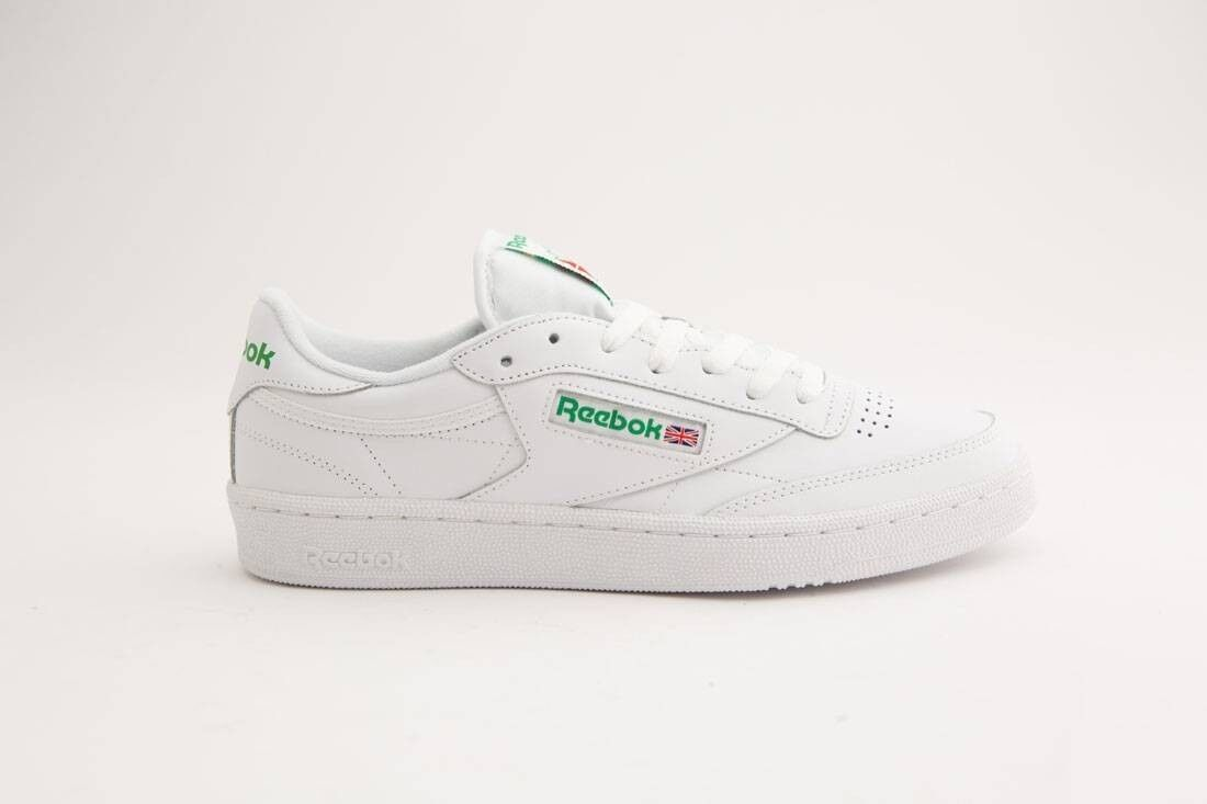 Reebok Men Club C 85 white green AR0456