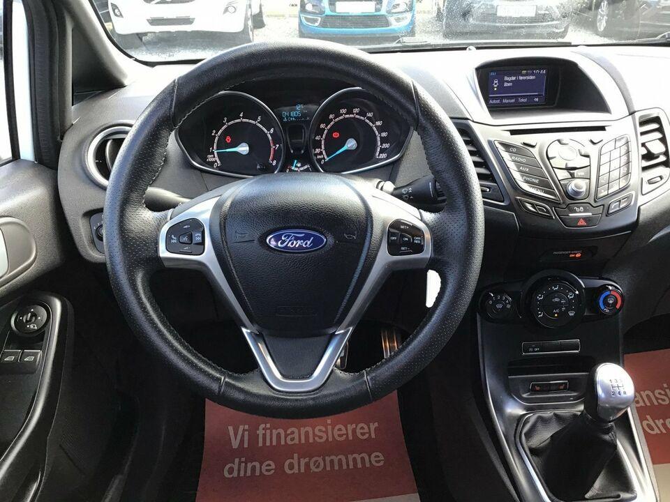 Ford Fiesta 1,0 SCTi 140 ST-Line Benzin modelår 2017 km