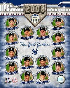 2008 Team Composite New York Yankees 8 X 10 Photo AAJN023 zzz