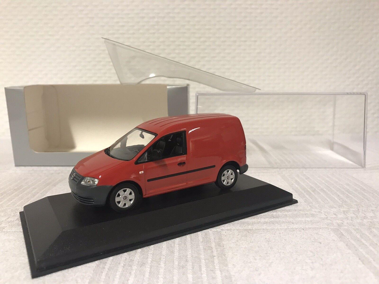 Minichamps 1 1 1 43 VW Caddy coche modelo modelcar scale model car regalo van rojo ed96ee