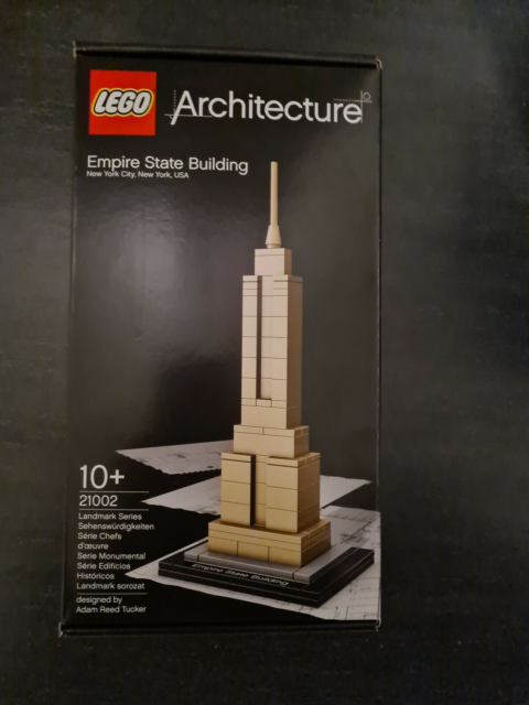 Lego Architecture, Empire state building 21002, Udgået…