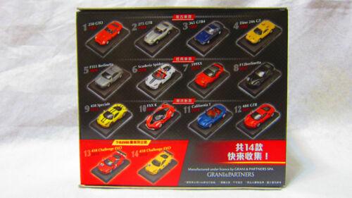 Ferrari Challenge 250 GTO 1962 1:64 Taiwan 7-11 événement Limited Diecast Voiture Modèle