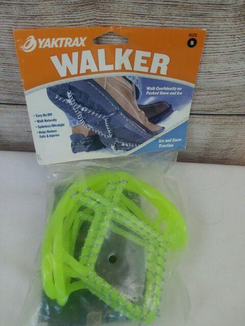 2 NEW Yaktrax Walker Lightweight Ice//Snow Walk Traction Device XS X-Small Black