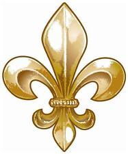 Mardi Gras # 19 - 8 x 10 Tee Shirt Iron On Transfer Fleur de lis 2/Saints logo