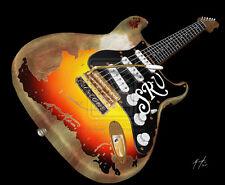 Stevie Ray Vaughan Guitarra Pestañas Tablatura lección CD 64 canciones y 35 pistas de respaldo
