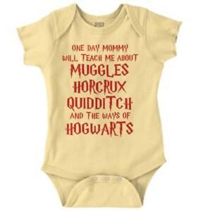 One-Day-Nerdy-Mommy-Teach-Me-Wizards-Magic-Newborn-Romper-Bodysuit-For-Babies