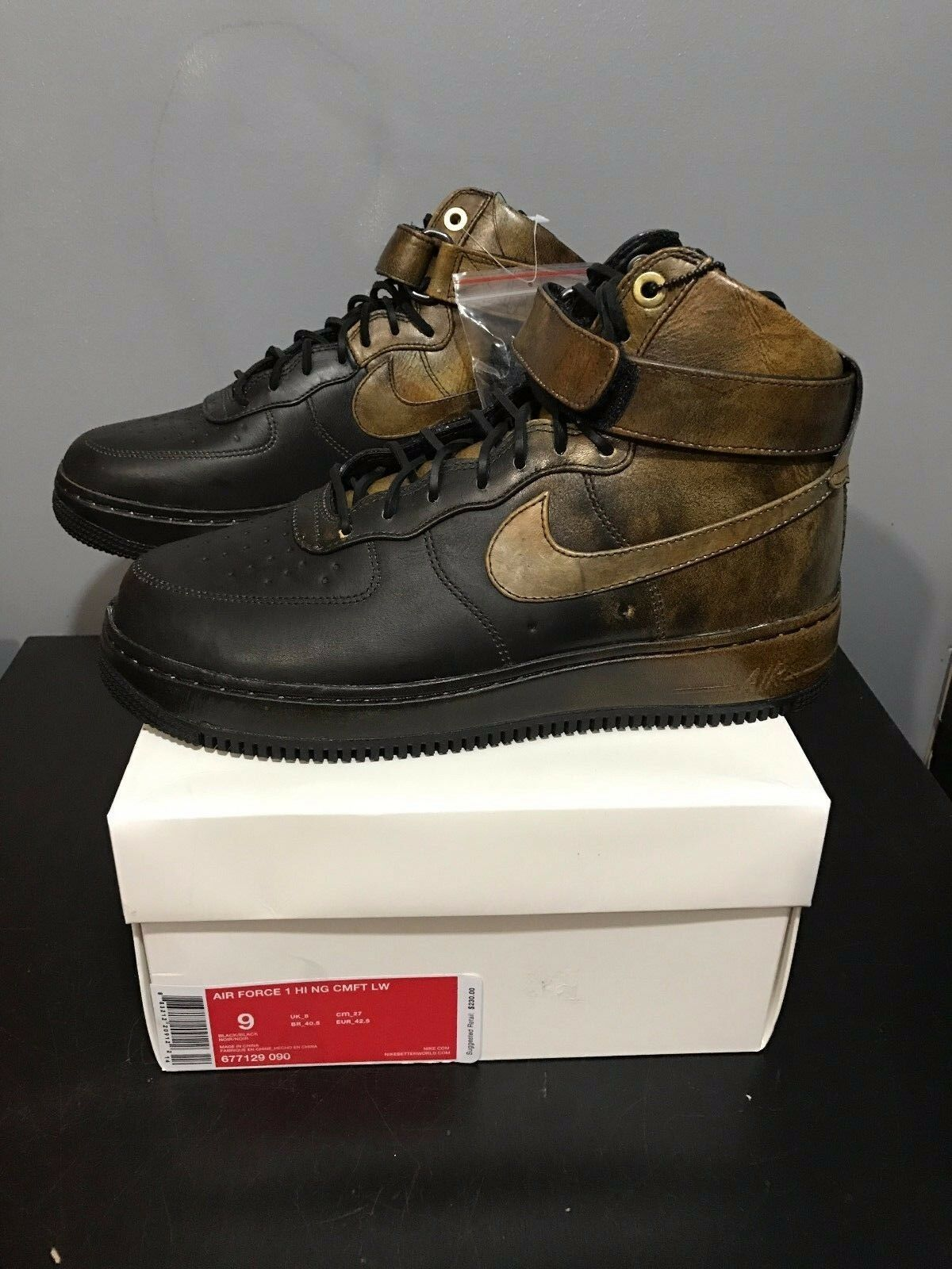 release date bf43c 800be well-wreapped NIKE AIR FORCE 1 PIGALLE HI CMFT SZ 9 677129-090 PPP