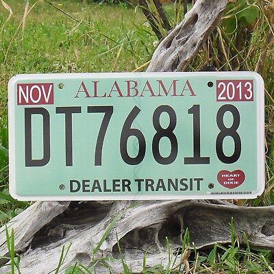dt76818 Authentisch Kennzeichen'kennzeichen Von'alabama Nummernschild Usa Einen Einzigartigen Nationalen Stil Haben