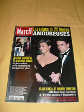 PARIS MATCH N°2864 Avril 2004 Claire Chazal Beatrice Schonberg