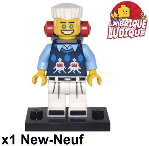Figurine Minifig Minifigurine The Ninjago Movie Zane randonneur sac NEUF Lego