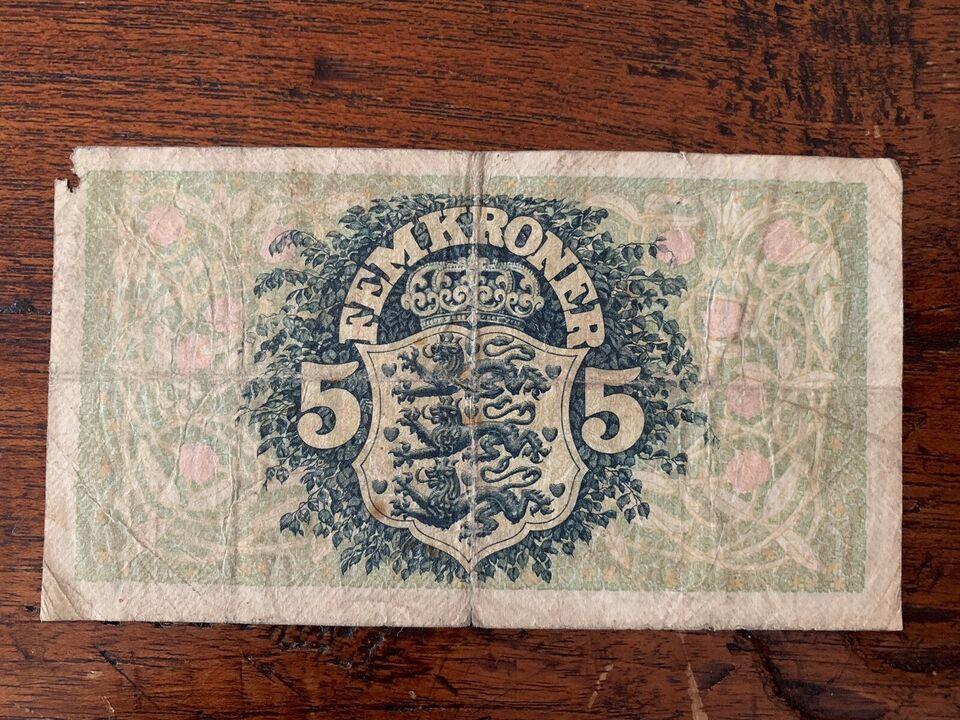 Danmark, sedler, 5kr