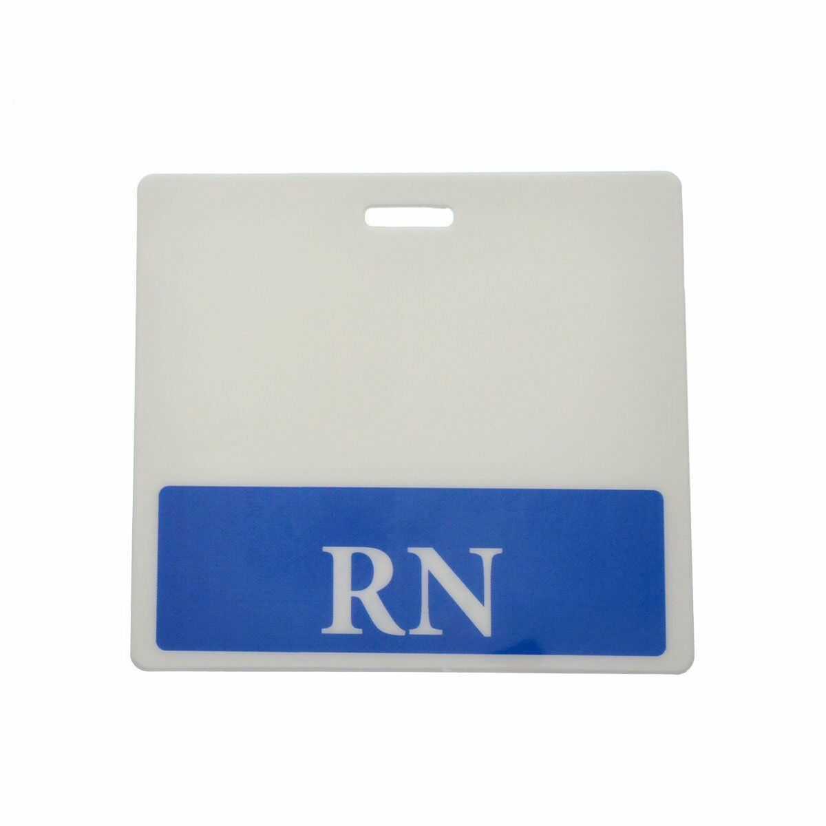 Sold Individually Clerk Horizontal Badge Buddy with Teal Border from Specialist ID
