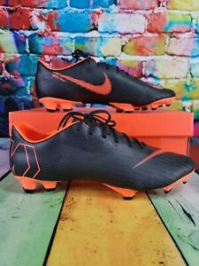 Nike Mercurial Vapor XII Pro Fixed Gear Men's Soccer Crampons Orange Taille 11.5 AH7382 081
