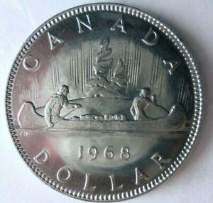 1968-CANADA-DOLLAR-AU-Excellent-Vintage-Coin-BARGAIN-BIN-111