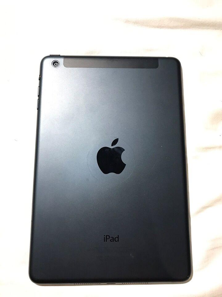 iPad mini, 32 GB, sort