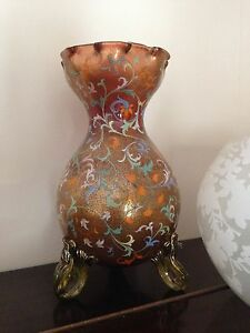 Moser Antique Glass Vase - <span itemprop='availableAtOrFrom'>Bristol, Avon, United Kingdom</span> - Moser Antique Glass Vase - Bristol, Avon, United Kingdom