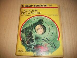 IL-GIALLO-MONDADORI-N-1226-SHERWOOD-KING-L-039-ALTALENA-DELLA-MORTE-30-7-1972