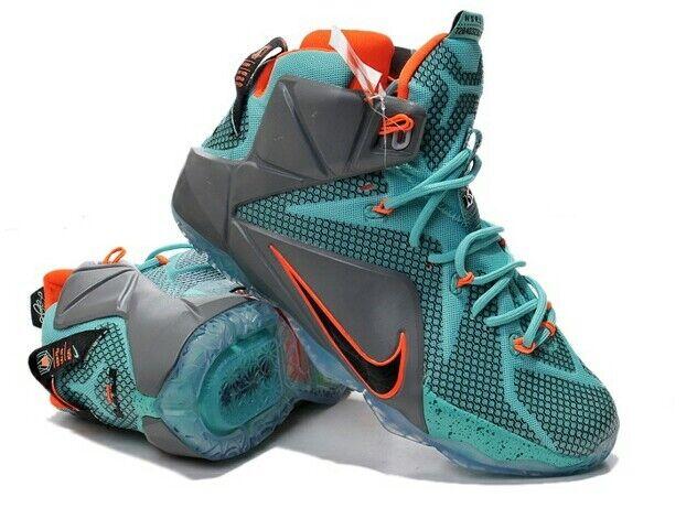 lebron 12 blue and orange