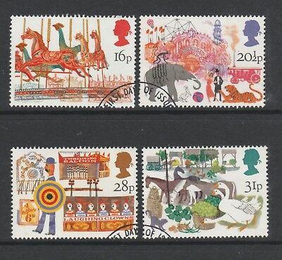 Gb 1983 British Fairs Sg 1227-1230 Fu