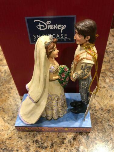 Jim Shore Disney Rapunzel /& Flynn Wedding The Big Day 4056751 New in Box RARE
